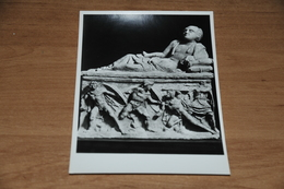 11387-  FIRENZE, MUSEO ARCHEOLOGICO, URNA A STECCO....ETEOCLE E PALINICE - Firenze