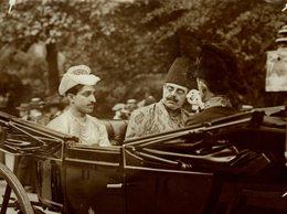 INDE INDIA MAHARYA HOLKAR AGHA KLAN   21*16CM Fonds Victor FORBIN 1864-1947 - Célébrités
