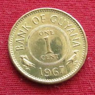 Guyana 1 Cent 1967 KM# 31 *V2 Guiana - Guyana