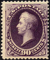 US #218  Mint  NH  O.g.  30c  Hamilton From 1888    Very Fresh Stamp - Unused Stamps