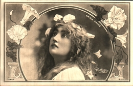 Artiste Femme 1900 - Emma Calvé (reutlinger - Cabarets
