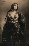 Artiste Femme 1900 - Chenal La Sorcière (bert 25 Gitane - Cabaret