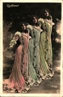 Artiste Femme 1900 - Courtenay (reutlinger 1442 - Kabarett