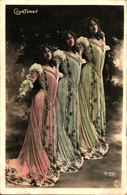 Artiste Femme 1900 - Courtenay (reutlinger 1442 - Cabaret