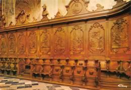 CPM - SAINT-HUBERT - Intérieur De La Basilique - Stalles - Vie De Saint Hubert - Saint-Hubert
