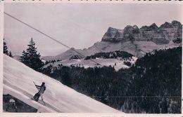 Morgins VS Sous La Neige, Remontée En Télé-Ski (8557) - VS Valais