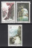 1972  MIchel Nº 1122, 1123, 1125,  MNH, Terminación Del Canal De Riego. - 1949 - ... República Popular