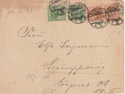 Allemagne - Enveloppe De Görlitz 1921 - Lettres & Documents