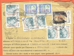 ITALIA - ITALY - ITALIE - 2001 - 2 X 5000 Siracusana Alti Valori + 6 X 650 Donne Nell'arte + Casanova - Piego Con Prospe - 6. 1946-.. Repubblica