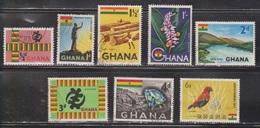 GHANA Scott # 48-51, 53-5, 57 Used - Various Topics - Ghana (1957-...)