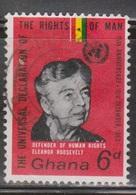 GHANA Scott # 162 Used - Eleanor Roosevelt - Human Rights - Ghana (1957-...)