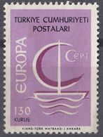 TURCHIA - 1966 - Yvert 1797 Nuovo Senza Gomma. - Nuovi