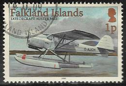 Falkland Islands SG1096 2008 Aircraft 1p Good/fine Used [40/32638/4D] - Falkland Islands