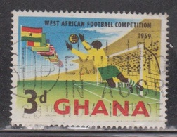GHANA Scott # 63 Used - West African Football Competition - Ghana (1957-...)