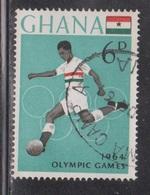 GHANA Scott # 183 Used - Football - 1964 Olympics - Ghana (1957-...)