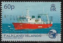 Falkland Islands SG1070 2007 Fisheries 60p Good/fine Used [12/12828/4D] - Falkland Islands