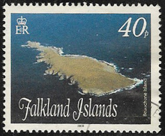 Falkland Islands SG1137 2009 Islands. Stacks And Bluffs (2nd Issue) 40p Fine Used [40/32640/4D] - Falkland Islands