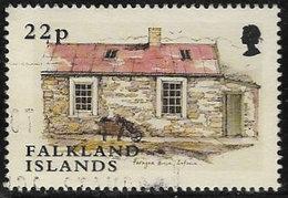Falkland Islands SG948 2003 Shepherds' Houses 22p Good/fine Used [40/32643/4D] - Falkland Islands