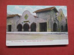 Southern Pacific & Salt Lake R.R. Depot San Bernardino  California    Ref 3543 - San Bernardino