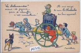 ILLUSTRATION-POULBOT- PUB- LA SALAMANDRE E. CHABOCHE - Poulbot, F.