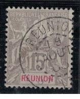 REUNION        N°     YVERT  48   OBLITERE       ( Ob  5/06 ) - Oblitérés
