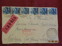 Devant De Lettre D'Italie De 1947 à Destination De Nidfurn - 6. 1946-.. Repubblica