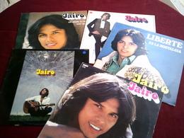 JAIRO  °°   COLLECTION  8  / 33  TOURS  DIFFERENTS  DONT 2 ALBUMS  DOUBLE - Vollständige Sammlungen
