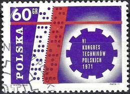 Poland 1971 - Mi 2101 - YT 1948 ( Congress Of Polish Technicians ) - 1944-.... République