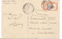 20886 - DJIBOUTI Pour La France - Lettres & Documents