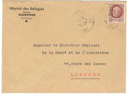 20887 - CLAIRVIVRE - Marcophilie (Lettres)