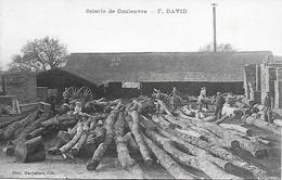 Carte Postale - COULEUVRE (03) - Scierie DAVID - Années 1900 - - France