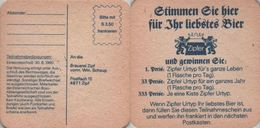 Bierdeckel Quadratisch - Zipfer - Beer Mats