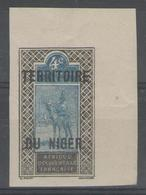 NIGER:  N°3a ** CdF (non Dentelé)        - Cote 91€+ - - Niger (1921-1944)