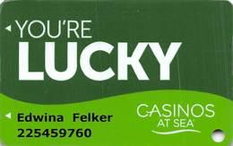 Norwegian Cruise Line Casinos At Sea Card - Casinokarten