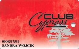 Cypress Bayou Casino - Charenton, LA - Slot Card - Casinokarten