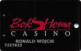 Bok Homa Casino - Heidelberg, MS - Slot Card - Casinokarten