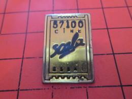 917 PIN'S PINS / Rare Et De Belle Qualité ! / Thème : CINEMA / TICKET DE CINEMA 57100 CINE ESSAI - Cinéma