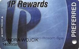 IP Casino Biloxi, MS Slot Card - PREFERRED In Caps - (I) Over Mag Stripe - Casino Cards