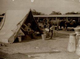 INDE INDIA DUNBAR CAMP AT DELHI BRITISH MILK FOR ENGLISH OFFICERS  21*16CM Fonds Victor FORBIN 1864-1947 - Lieux
