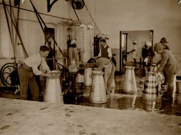 INDE INDIA DUNBAR CAMP AT DELHI BRITISH MILK  21*16CM Fonds Victor FORBIN 1864-1947 - Lieux