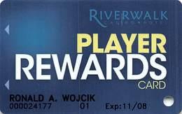 Riverwalk Casino - Vicksburg, MS USA - Slot Card - Casinokarten