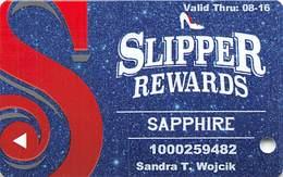 Silver Slipper Casino - Lakeshore, MS - Slot Card - Casinokarten