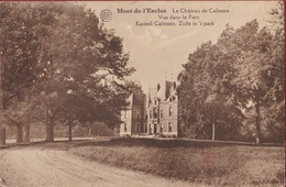 Kluisbergen Mont-de-l'Enclus Le Château De Calmont Vue Dans Le Parc (In Goede Staat) - Kluisbergen