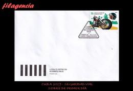 CUBA SPD-FDC. 2019-18 PREVENCIÓN DE ACCIDENTES VIALES. MOTOCICLETA - FDC