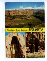 290081 AFGHANISTAN To USSR 1975 Year Greetings From Bamyan RPPC - Afghanistan