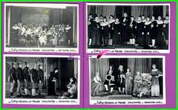 61 Orne ARGENTAN 4 Photo Collége Mezeray 1953 Theatre Le Malade Imaginaire Représentation  - Reproduction Photo Papier - Reproductions