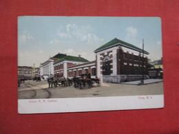 Union R.R. Station     Troy  New York  Ref 3544 - NY - New York