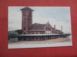 Delaware Lackawanna & Western Depot  Binghamton  New York  Ref 3544 - NY - New York