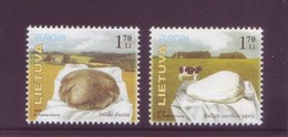 Europa CEPT 2005 - Lituania, Gastronomia, 2v MNH** Integri - Europa-CEPT