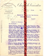 Brief Lettre - Textiles Théophile Vercoutere Gent - Naar Kadaster 1929 Ivm Chemin N° 714 B Aeltre Aalter - Vieux Papiers